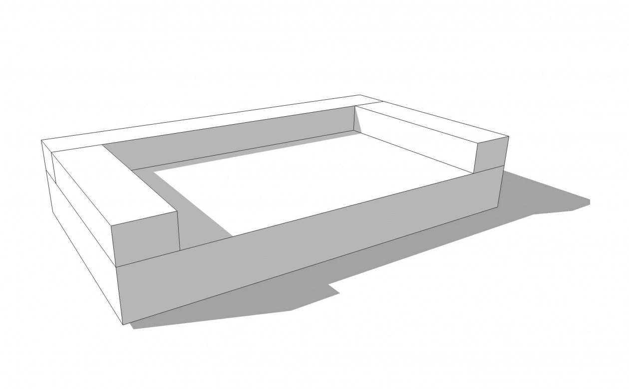 Little Opium Bed 205cm x 120cm x 55cm